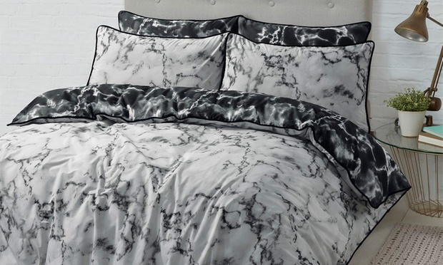 Reversible Quilt Cover Set Groupon Goods