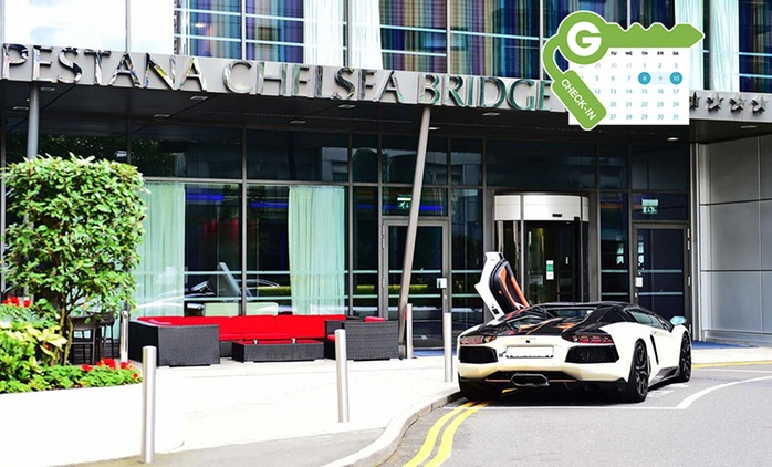 London: Stay for Two with Breakfast, Spa Access and Prosecco at 4* Pestana Chelsea Bridge Hotel & Spa