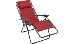Gordons Ace Hardware (Gordon's Ace Hardware): $29.99 for a Red or Blue Relaxing Chair with In-Store Pickup at Gordon's Ace Hardware ($59.99 Value)