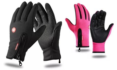 Uno o dos guantes softshell
