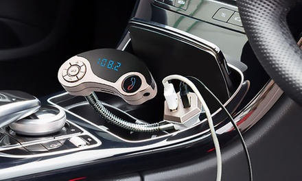 HandsFree Bluetooth Car Kit with Dual Chargers: One $24 or Two #39.95