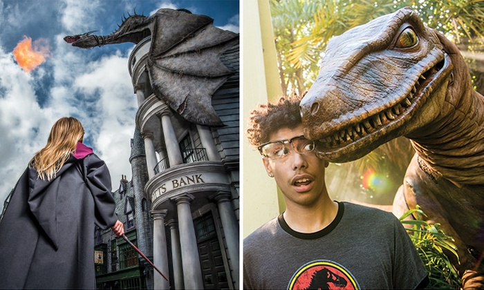 Universal Orlando Resort™ Multi-Day Tickets to Three Theme Parks, Save $20 off Gate PricePrice: $