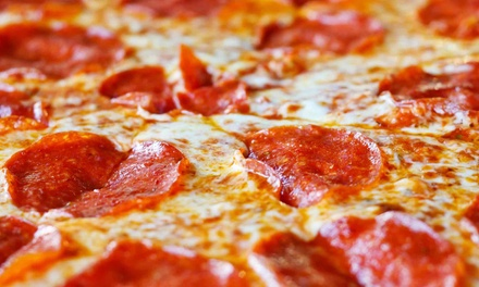 Pizza Meal for Two or Four at One Horse Pizzeria and Saloon (Up to 52% Off)