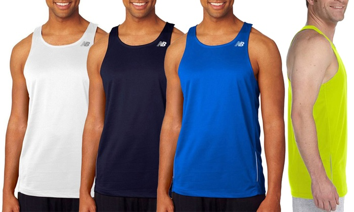 655f10e91e3e2 Up To 58% Off on New Balance Men's Singlet | Groupon Goods
