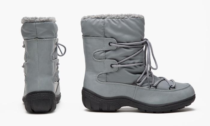 6b4efb3b8 Olive Street Women's Short Winter Boots   Groupon