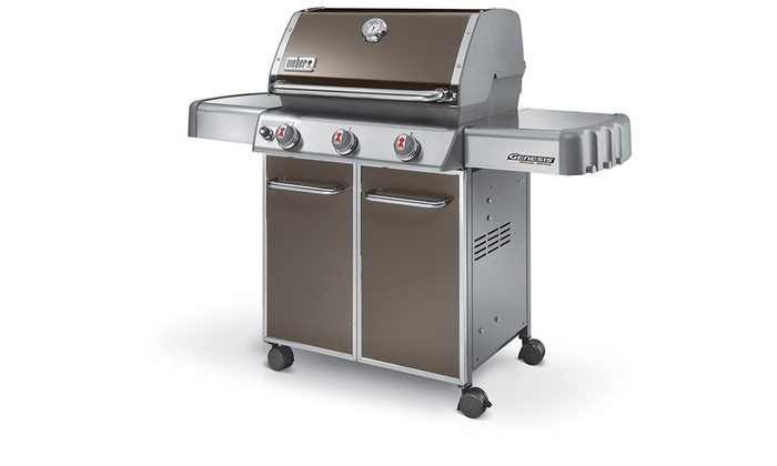 Weber Gas Grill. Werealize. . . Genesis Silver B And ...