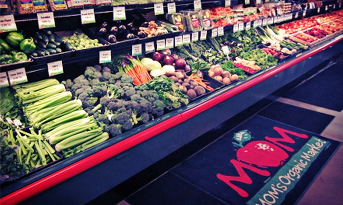 MOM's Organic Market - Fairfax: $10 for $20 Worth of Organic Groceries at MOM's Organic Market Grand Opening