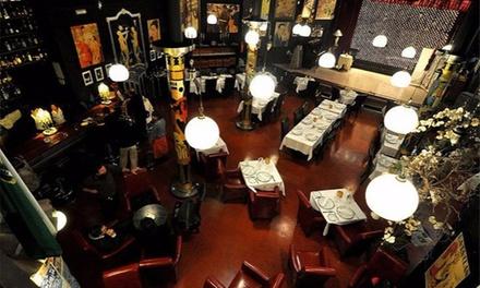Cena para 2 o 4 personas con entrante, primero, segundo, postre y bebida desde 34,95 € en Restaurante La Fonda