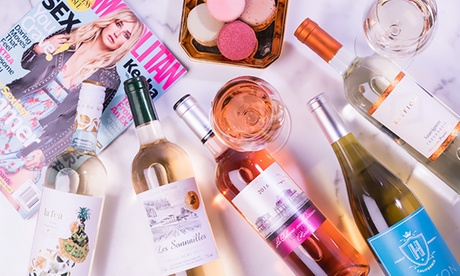 12 Bottles of Rosé & White Wine plus One-Year Subscription to Cosmopolitan from Wine Insiders ($86.01 Off)
