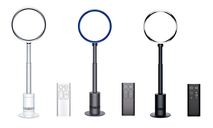 dyson am08 air multiplier pedestal fan certified refurbished livingsocial. Black Bedroom Furniture Sets. Home Design Ideas