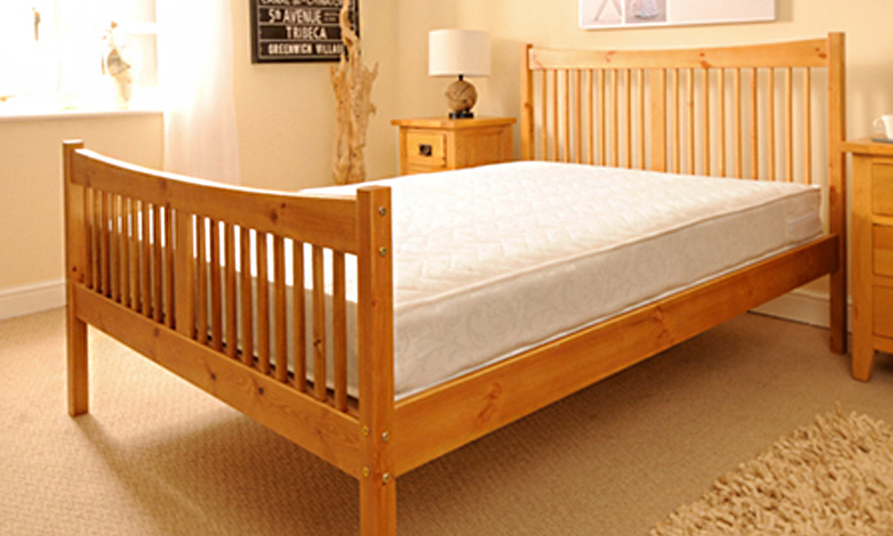 handmade shaker bed frame from 135 with mattress from 179 plus free delivery up to 70 off - Bed Frame Deals