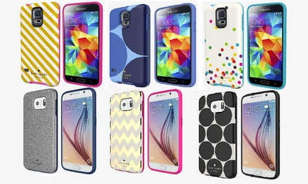 Kate Spade Flexible Hardshell Case for Samsung Galaxy S5 or Galaxy S6