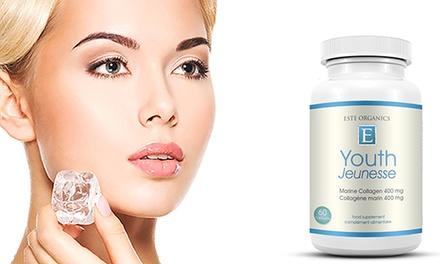 400 mg Este Organics Marine Collagen Youth (bis zu 74% sparen*)