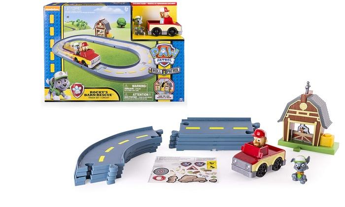 Titolo1 o 2 piste giocattolo Paw Patrol SpinMaster, disponibile in 2 tipologie