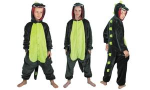 Costume kigurumi dino vert Party Pro