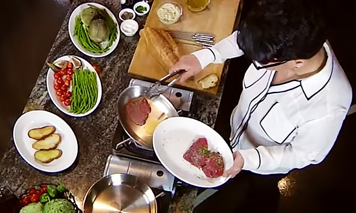 Cooking Show And Dinner Romancing The Pan Groupon