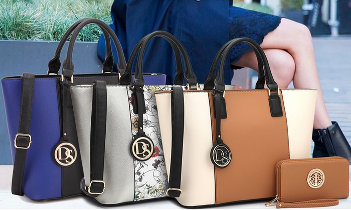76b2fd9373cc Up To 81% Off on DS Collection Handbag and Wallet | Groupon Goods