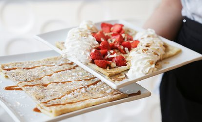 image for Sweet and Savoury Crêpes with Prosecco for One, Two or Four at La Petite Bretagne (Up to 58% Off)