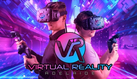 60-Minute Virtual Reality Experience for One ($29) or Two People ($55) at Virtual Reality Adelaide (Up to $80 Value)