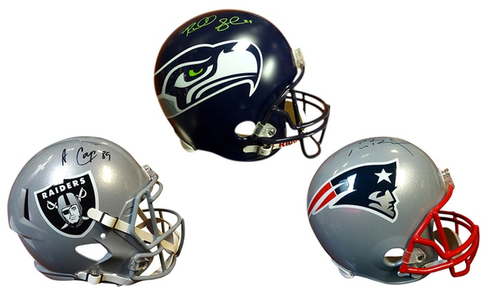 NFL Active Player Full-Size Autographed Helmets