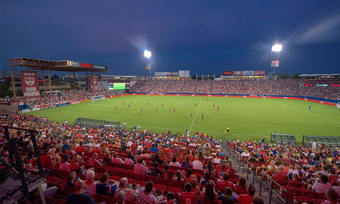 FC Dallas - Toyota Stadium: FC Dallas Soccer Match Package at Toyota Stadium on Saturday, July 25 (Up to 49% Off)
