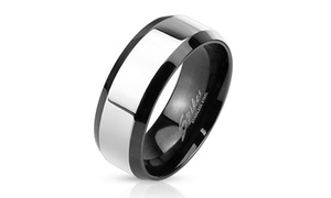 Two-Tone Stainless Steel Band