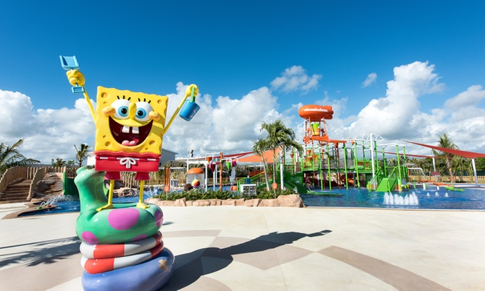 All-Inclusive 4.5-Star Nickelodeon Resort in Dominican Republic
