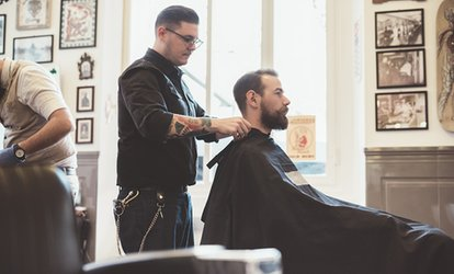image for Men's Grooming Services at Robert Markley Salon (Up to 62% Off). Three Options Available