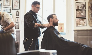 Charisma Hair & Beauty: Gents' Hair Wash, Cut and Scalp Massage with Eyebrow Shape and Tint