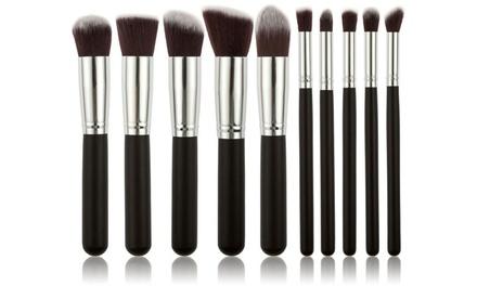 1, 2 o 3 sets de 10 de brochas de maquillaje