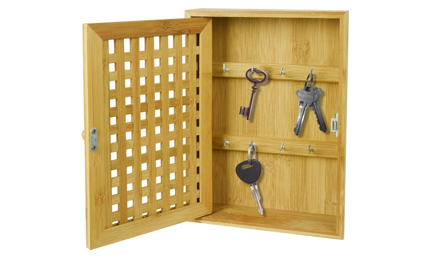 ASAB Bamboo Key Storage Box for £10.99