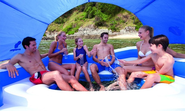 $299 for a Bestway Tropical Breeze Inflatable Floating Island