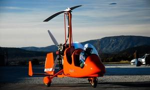 Alerion Gyro: Vol de 20, 30, 40 ou 60 min à bord d'un autogire dès 59,90 € avec Alerion Gyro