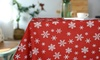 Tischdecke mit Weihnachts-Muster