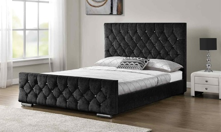 Arya Bedframe with Optional Mattress With Free Delivery