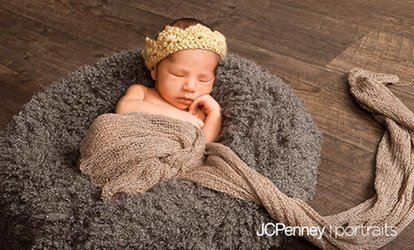 "Photo Shoot Package with Optional 10""x20"" Canvas Print at JCPenney Portraits (Up to 87%)"