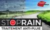 Traitement anti-pluie pour pare-brise auto