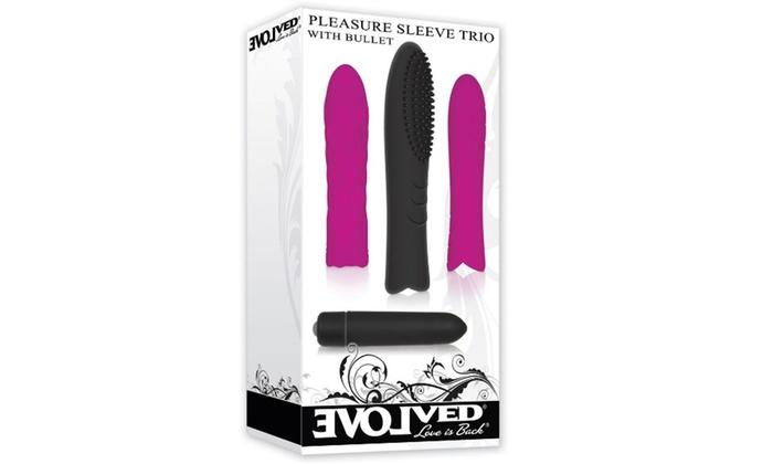 Ball vibrator sleeves usage tits and