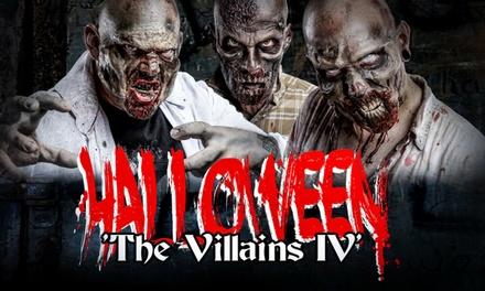 "Tickets voor Halloweenevent ""The Villains IV"" in familiepark Mondo Verde te Landgraaf"