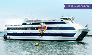 Victory II: $58 for a Casino Cruise with Lunch or Dinner, Drinks, and Slot Play for Two from Victory II ($114 Value)