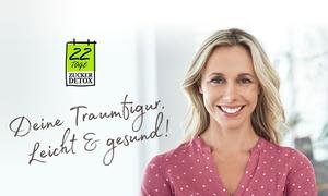 22 Tage Zucker-Detox: Dauerhafte Online-Mitgliedschaft bei 22 Tage Zucker-Detox (50% sparen*)