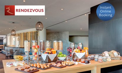 Breakfast Buffet with Ocean View at Straits Cafe at the Rendezvous Hotel Scarborough (Up to $58 Value)
