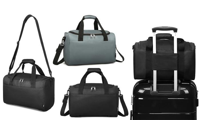 Kono Structured Travel Duffel Bag