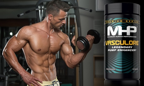 MHP Vasculore Pre-Workout Supplement (1- or 2-Pack)