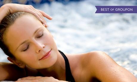 Circuito spa para dos con opción a masaje y peeling de espalda desde 29,95 € en Five Senses Spa