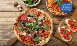 Fbi: Three-Course Pizza/Pasta Meal with Prosecco for Two ($49) or Four People ($95) at FBI, Wembley (Up to $172 Value)
