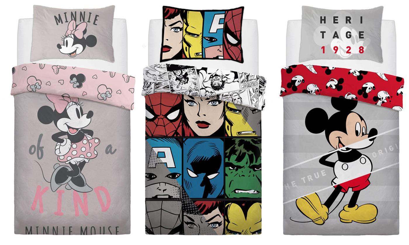 Disney® Reversible Duvet Set
