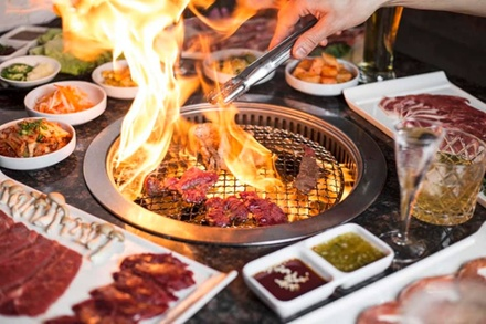 All You Can Eat for Two, Four, or Six at Chow One Korean Steakhouse (Up to 35% Off)
