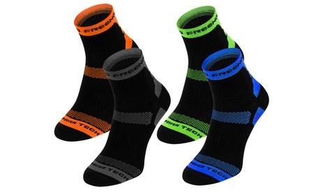 Pack de 4 ou 8 paires de chaussettes de compression pour le sport de la marque Freenord
