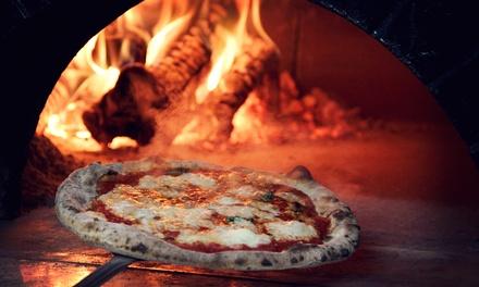 Pizza napoletana in centro città